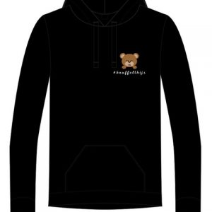 Hoodie knuffelthijs klein logo